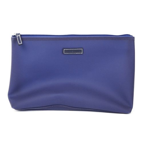 Rubber Wash Bag - Navy